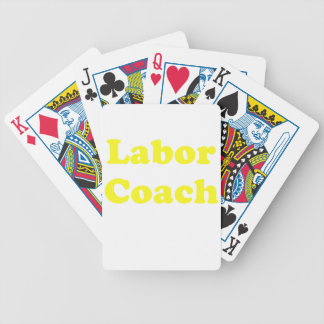 Labor Coach Deck Of Cards