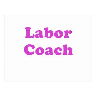 Labor Coach Postcard