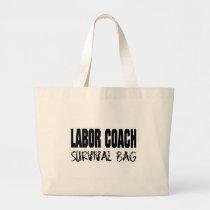 labor coach survival bag