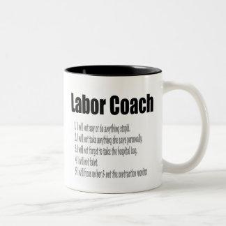 Labor Coach Two-Tone Coffee Mug