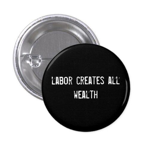 labor creates all wealth button
