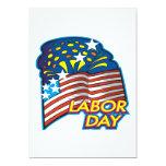 """Labor Day 5"""" X 7"""" Invitation Card"""