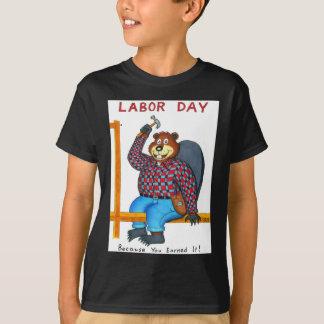 Labor Day Beaver T-Shirt