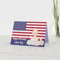 Labor Day Birthday Card