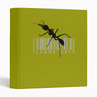 Labor day, black ant 3 ring binders