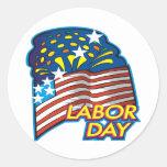 Labor Day Classic Round Sticker