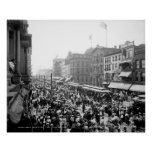 Labor Day Crowd, Buffalo: 1900 Posters