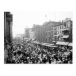 Labor Day Crowd, Buffalo, NY: 1900 Post Card
