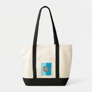 Labor Day Greeting Card Builder Carpenter Shouting Tote Bag