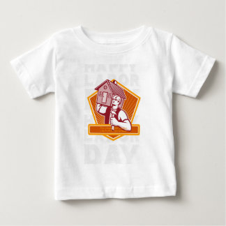 Labor Day Greeting Card Builder Hammer House Shiel Baby T-Shirt