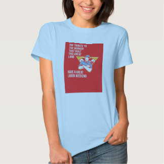 Labor Day Greeting Card Builder Hammer Houses Shie Tee Shirt