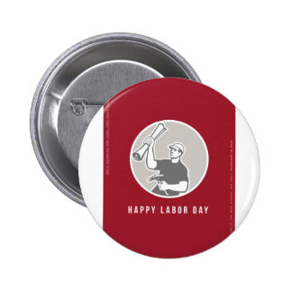 Labor Day Greeting Card Builder Plan Hammer Circle Button
