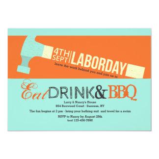 Labor Day Hammer Invitation