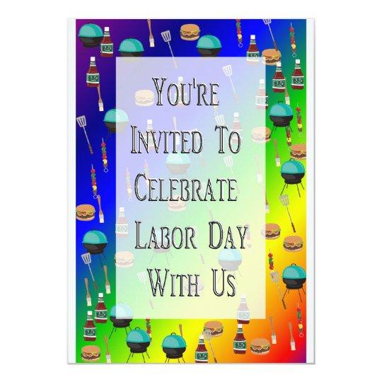 Labor Day Invitation