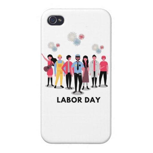 Labor Day Case For iPhone 4