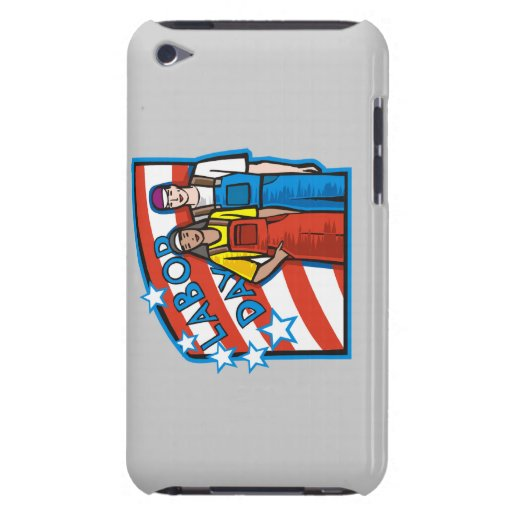 Labor Day iPod Touch Case-Mate Case