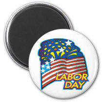 Labor Day Magnet