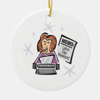Labor Day Memo Ornaments