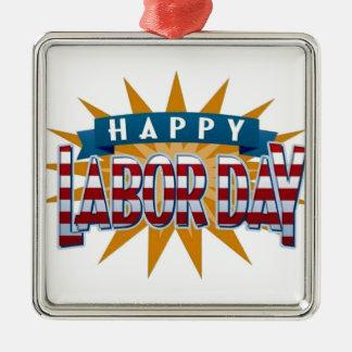 Labor Day Metal Ornament