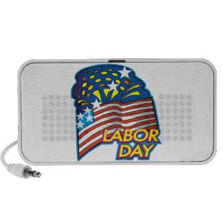 Labor Day Notebook Speaker