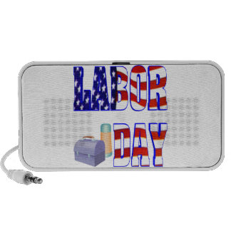 Labor Day Portable Speaker