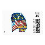 Labor Day Postage Stamp
