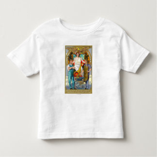 Labor Day Souvenir Laborers with Lady Justice Toddler T-shirt