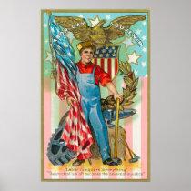 Labor Day Souvenir Poster