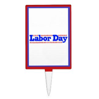Labor Day Stars - Cake Topper