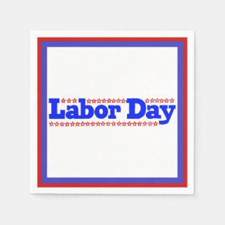Labor Day Stars - Paper Napkin