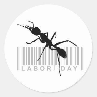 Labor day stickers