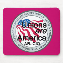 Labor Day Unions Mousepad