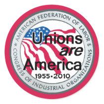 Labor Day Unions Sticker