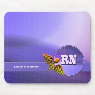 Labor & Delivery. Nurse Appreciation Gift Mousepad