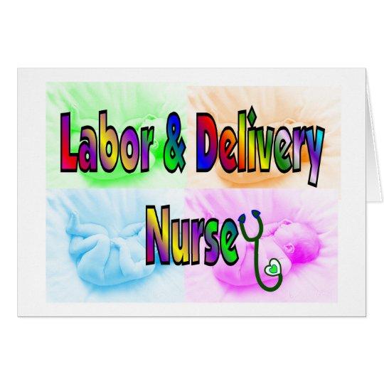 Labor & Delivery Nurse Card