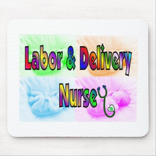 Labor & Delivery Nurse Mouse Pad
