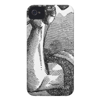 Labor Hand Holding Hammer iPhone 4 Cover