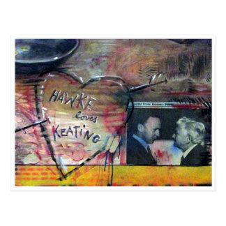 labor love postcard