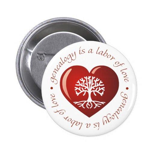 Labor of Love Heart Pin