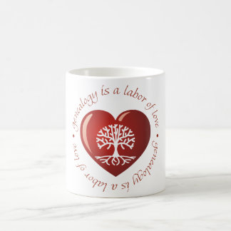 Labor of Love Heart Coffee Mug
