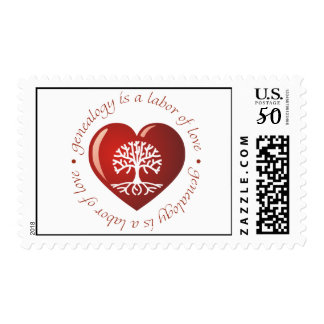 Labor of Love Heart Postage