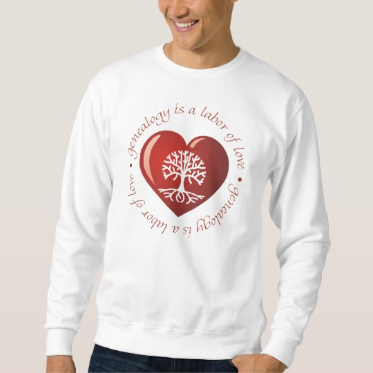 Labor of Love Heart Sweatshirt
