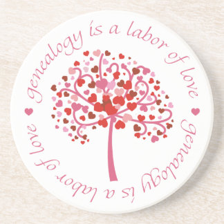 Labor of Love Tree Drink Coaster