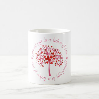 Labor of Love Tree Coffee Mug
