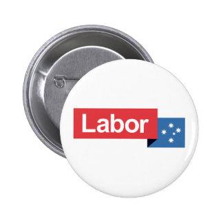 Labor Party Australia Pinback Button