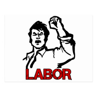 Labor Postcard