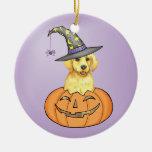Laboratorio amarillo Halloween Adorno De Reyes