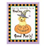 Laboratorio amarillo Halloween Anuncio