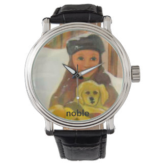 Laboratorio amarillo relojes de mano