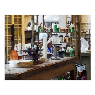 Laboratorio de Chem Tarjetas Postales